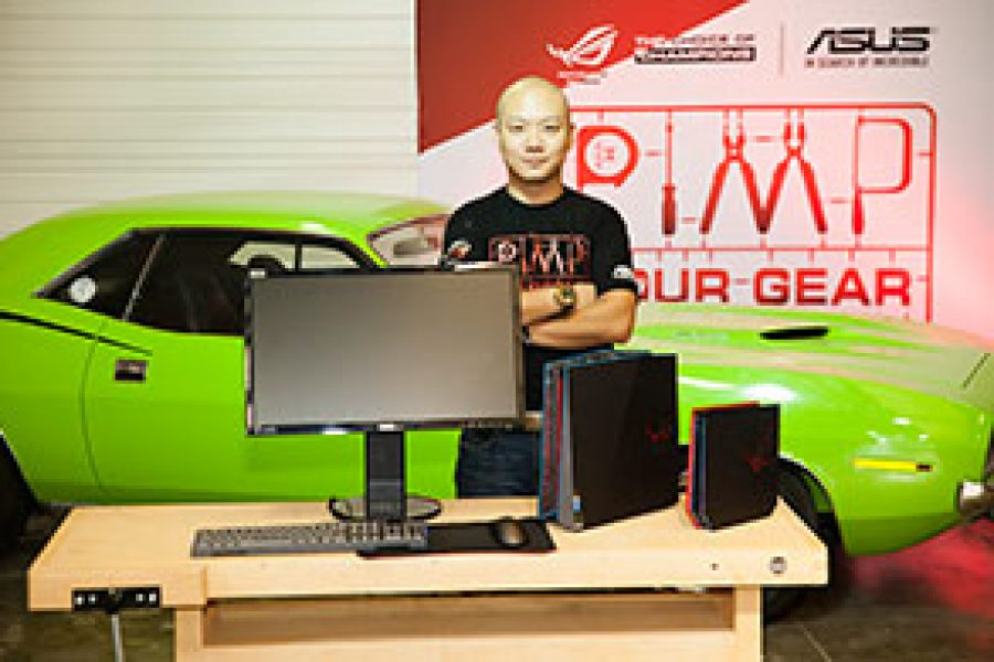 Captation du championnat du monde de modding PC 2015